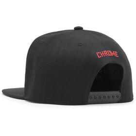 Chrome Casquette De Baseball, black/red